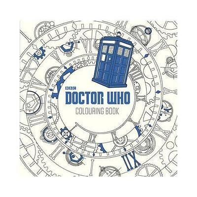 Doctor Who: The Colouring Book by WHO,D