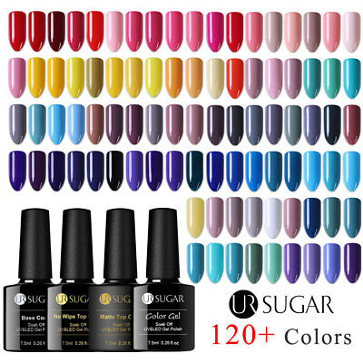 Nail Art UV Gel Polish Soak Off Top Base Coat Gel Multi-color Varnish UR SUGAR