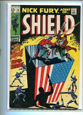 Nick Fury #13 Hi Grade Outer Cover 6.0 Inner Cover 8.5 Rare Double Cover