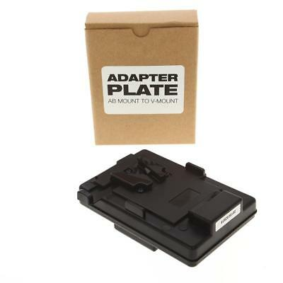 Ikan AB Mount to V-Mount Battery Adaptor Plate - SKU#940145