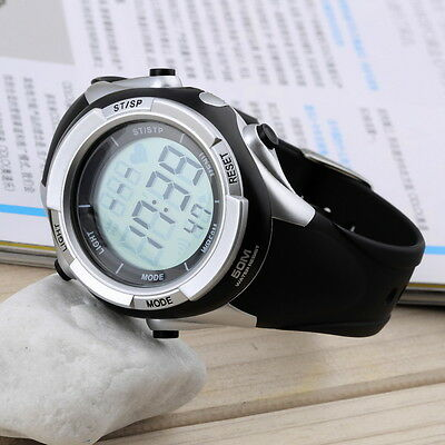 Multifunctional Fitness Heart Rate Monitor Watch Chest Strap SN