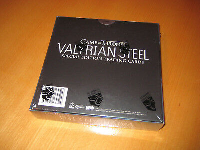 Game of Thrones Valyrian Steel (2017)  Trading Card Box