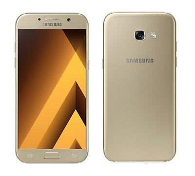 Samsung Galaxy A5  2017 in Gold Handy Dummy Attrappe - Requisit, Deko, Muster