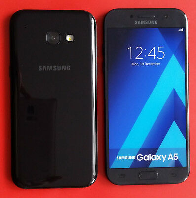 Samsung Galaxy A5  2017 in Black Handy Dummy Attrappe - Requisit, Deko, Muster