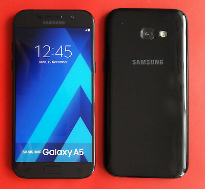 Samsung Galaxy A3  2017 in Black Handy Dummy Attrappe - Requisit, Deko, Muster