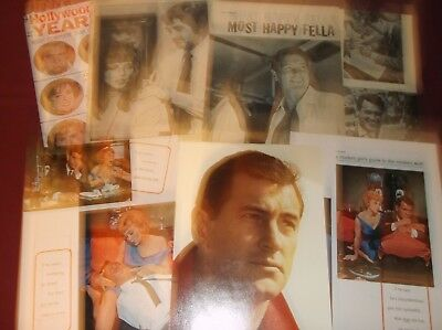Rock Hudson - Clippings  (Lot A)