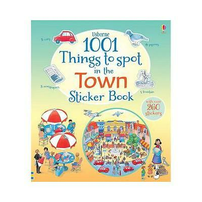 1001 Things to Spot in the Town Sticker Book by Teri Gower (illustrator)