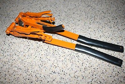 "3/16"" Double hand Cut-in tool pliers repair fitting barb maple syrup tubing"