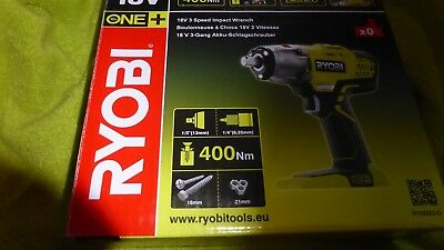RYBR18IW30 R18IW3-0 ONE+ 18V 3 Speed Impact Wrench 18 Volt Bare Unit