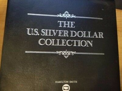Postal Commemorative Society The U.S. Silver Dollar Coin Collection COMPLETE 38