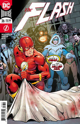 The Flash #36 -Dc Universe - 1St Print - 2017 - Bagged & Boarded. Free Uk P+P