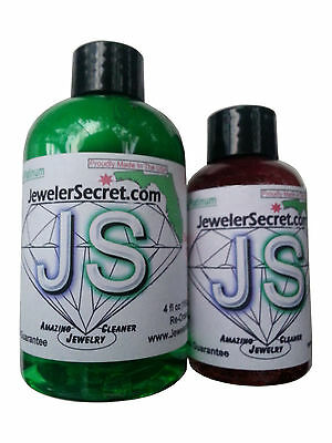 AMAZING JEWELER SECRET GOLD & PLATINUM JEWELRY CLEANER/Cleans Instantly 4-2