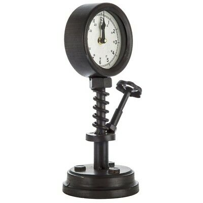Industrial Valve Metal Clock Vintage Style Metal Man Cave Garage Decor 69