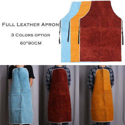 60x90cm Welder Apron Welding Equipment Heat Insulation Protection Cow Leather