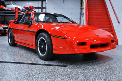 1988 Pontiac Fiero GT 1988 PONTIAC FIERO GT 521 ACTUAL MUSEUM QUALITY MILES LIKE FIREBIRD TRANS AM