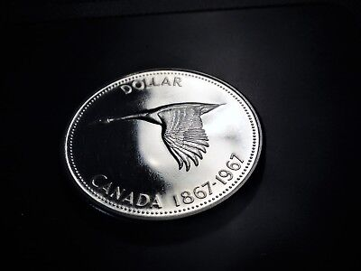 Canada 1967 Flying Goose Prooflike 80% Silver Dollar