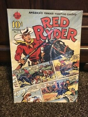 1938 Red Ryder Comic Book Daisy BB Gun AD 1989 Reprint Mint Condition In Bag