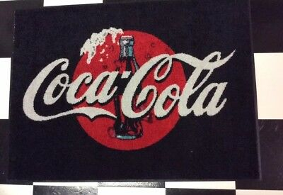 New coke rug  2X3 commercial quality rubber back mat