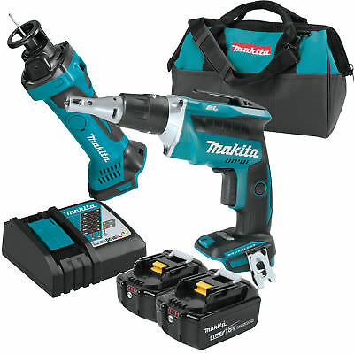 Makita XT255MB LXT 18V 4.0 Ah Li-Ion BL Screwdriver/Cut-Out Tool Kit New