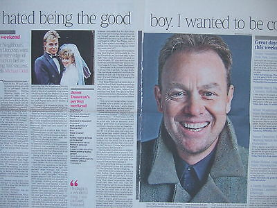 JASON DONOVAN 15 Page UK Recent Magazine Clippings Pack inc Kylie Minogue Badge