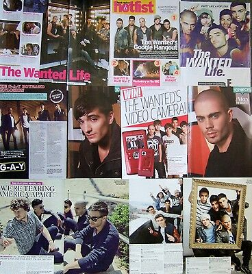 THE WANTED UK Magazine Clippings *Glad You Came Max George Walks Like Rihanna