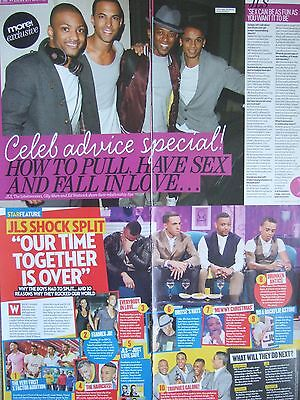 JLS UK Magazine Clippings Pack *Marvin Humes Jukebox Aston Outta this World