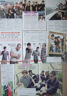 THE WANTED UK OK Magazine Clippings *Glad You Came Max George