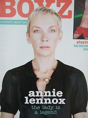 ANNIE LENNOX Magazine Clippings *Eurythmics Nostalgia Dave Stewart