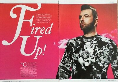 MARK FEEHILY UK Pridelife Magazine Clipping Autumn 2015 *Boyzone Ronan Keating