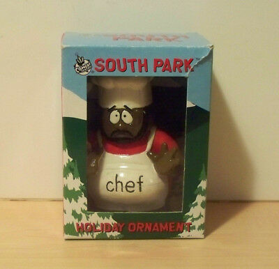 South Park Chef Holiday Christmas Tree Ornament Boxed