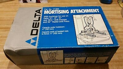 Delta Mortising Attachment 17-905 Used Excellent Condtion
