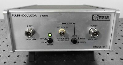 G146056 Integra Microwave PM-1 Pulse Modulator 2-18GHz