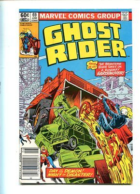 Ghost Rider #69 Nm 9.4 Glossy Cover Uncirculated
