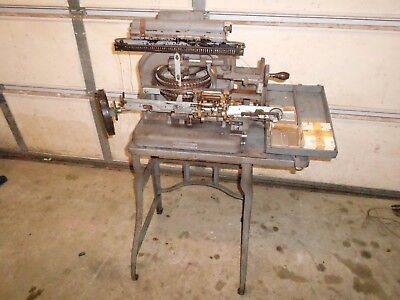 Graphotype Model 6153 by Addressograph -  tag machine with tags