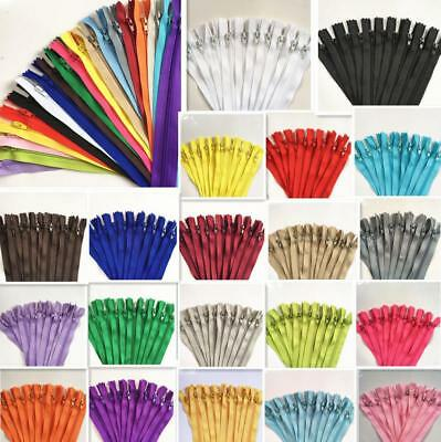 1M Colorful Nylon Coil Zippers Tailor Sewing Craft 20 Colors