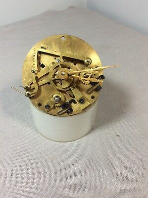 Antique French Open Escapement Clock Movement for Parts / Repairs