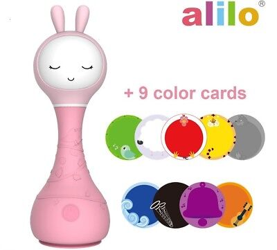 Easter bunny Intelligent baby Rattle Smarty bunny best baby gift Media Player