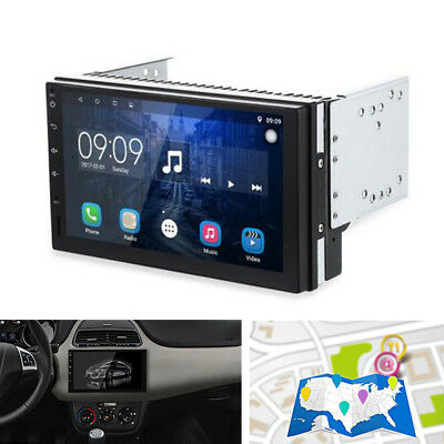 2Din Android 6.0.1 Car DVR Radio Player GPS Navigation WiFi Mirror Link FM/AM