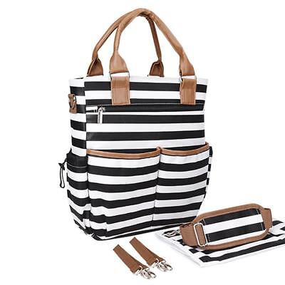 Mummy Baby Nappy Diaper Changing Maternity Shoulder Bag Tote Set