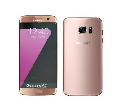 Samsung Galaxy S7 in Pink Gold Handy Dummy Attrappe - Requisit, Deko, Werbung
