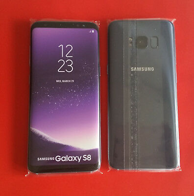 Samsung Galaxy S8 in Violet Gray Handy Dummy Attrappe - Requisit, Deko, Werbung
