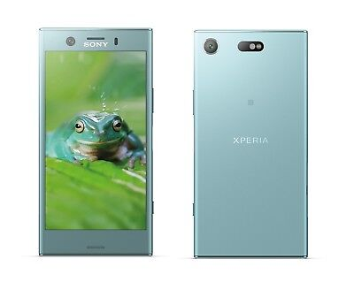 Sony XPERIA XZ1 Compact in Blue Handy Dummy Attrappe - Requisit, Deko, Werbung