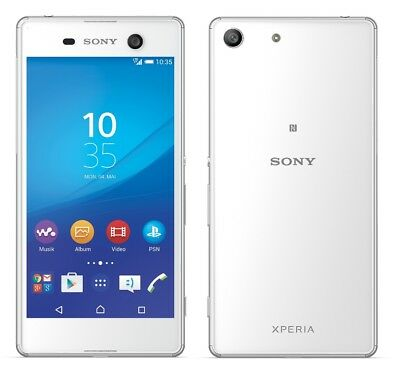 Sony XPERIA M5 in Weiß Handy Dummy Attrappe - Requisit, Deko, Werbung, Muster