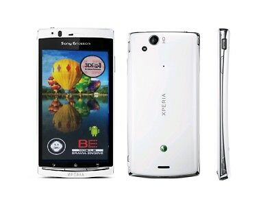 Sony Ericsson XPERIA arc in Weiß Handy Dummy Attrappe - Requisit, Deko, Werbung