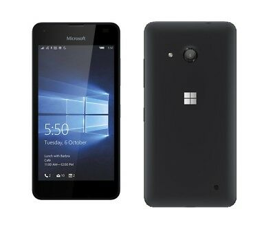 Microsoft Lumia 550 in Black Handy Dummy Attrappe - Requisit, Deko, Ausstellung