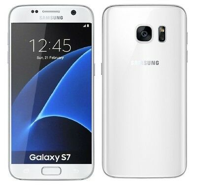 Samsung Galaxy S7 in Weiß Handy Dummy Attrappe - Requisit, Deko, Werbung, Muster