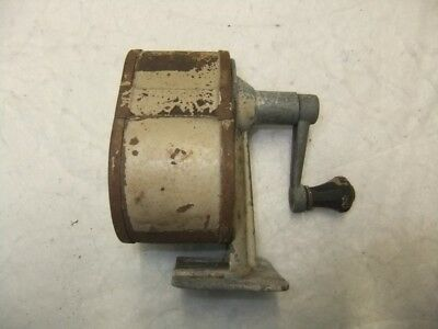 Old Retro Vintage Bench Top Type School-Office Pencil Sharpener –Shabby Chic