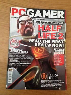 PC Gamer Magazine Half Life 2