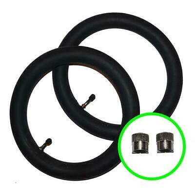"2 x BRITAX AFFINITY Pushchair / Stroller Inner Tubes 12 1/2"" - 45º Bent / Angled"