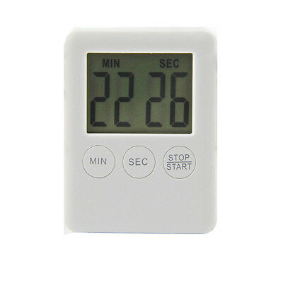 Digital Timer Kitchen Alarm LCD Cooking Large Countdown UP loud